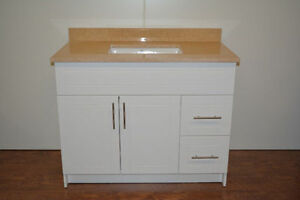 "Bath Vanity 49"" +Sink+ Top with 2 Splashes $499 only"