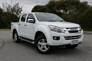 2015 Isuzu D-MAX MY15 LS-U Crew Cab Splash White 5 Speed Sports Automatic Utility Hillman Rockingham Area Preview