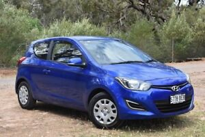 2014 Hyundai i20 PB MY14 Active Blue 4 Speed Automatic Hatchback St Marys Mitcham Area Preview