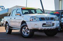 2011 Nissan Navara D22 S5 ST-R White 5 Speed Manual Utility Wangara Wanneroo Area Preview