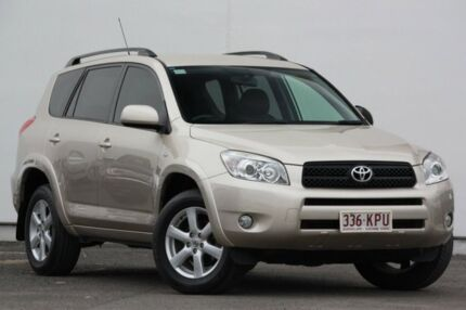 2007 Toyota RAV4 ACA33R Cruiser Gold 4 Speed Automatic Wagon Tweed Heads South Tweed Heads Area Preview