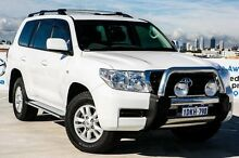2010 Toyota Landcruiser VDJ200R MY10 GXL White 6 Speed Sports Automatic Wagon Osborne Park Stirling Area Preview