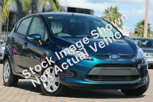 2012 Ford Fiesta WT CL Blue 6 Speed Automatic Hatchback Wangara Wanneroo Area Preview