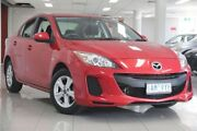 2013 Mazda 3 BL10F2 MY13 Neo Activematic Velocity Red 5 Speed Sports Automatic Sedan South Melbourne Port Phillip Preview