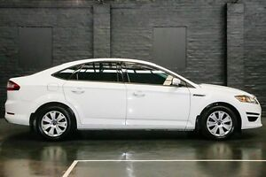 2013 Ford Mondeo MC LX PwrShift TDCi White 6 Speed Sports Automatic Dual Clutch Hatchback Northbridge Perth City Area Preview