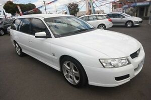 2005 Holden Commodore VZ Equipe White 4 Speed Automatic Wagon Kingsville Maribyrnong Area Preview