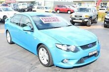 2010 Ford Falcon FG XR6 Blue 5 Speed Auto Seq Sportshift Sedan South Maitland Maitland Area Preview