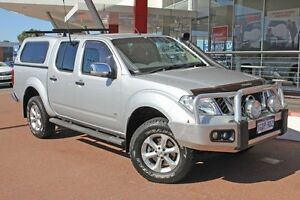 2011 Nissan Navara D40 S6 MY12 ST-X 550 Silver 7 Speed Sports Automatic Utility Myaree Melville Area Preview