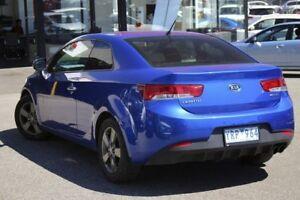 2011 Kia Cerato TD MY11 Koup SI Santorini Blue 6 Speed Manual Coupe