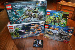 Lego - Divers sets neufs ( Galaxy Squad, Ultra Agents, DC )