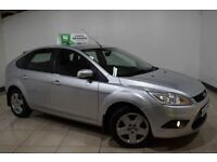 FORD FOCUS 1.6 STYLE 5d AUTO 100 BHP (silver) 2008