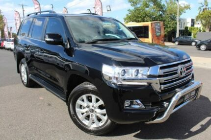 2017 Toyota Landcruiser Black Sports Automatic Wagon Heidelberg Heights Banyule Area Preview
