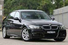 2006 BMW 320i E90 Black 6 Speed Steptronic Sedan Petersham Marrickville Area Preview