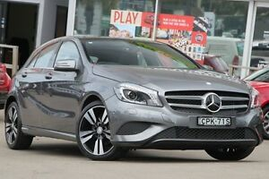 2013 Mercedes-Benz A200 W176 D-CT Grey 7 Speed Sports Automatic Dual Clutch Hatchback Dee Why Manly Area Preview