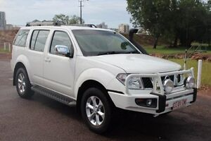 2008 Nissan Pathfinder R51 MY08 ST-L White 6 Speed Automatic Wagon The Gardens Darwin City Preview