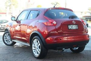 2014 Nissan Juke F15 MY14 ST-S 2WD Dark Red 6 Speed Manual Hatchback Waitara Hornsby Area Preview