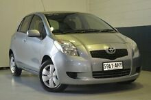 2008 Toyota Yaris  Silver Automatic Hatchback Nailsworth Prospect Area Preview