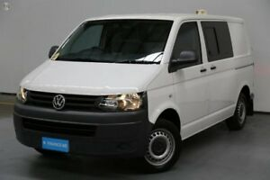 2012 Volkswagen Transporter T5 MY12 TDI340 SWB DSG White 7 Speed Sports Automatic Dual Clutch Van