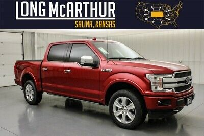 2020 Ford F-150 Platinum Crew Cab 4x4 Tech Max Tow MSRP$65639 B&O Audio Tech Pkg Nav Adaptive Cruise Max Trailer Tow Package