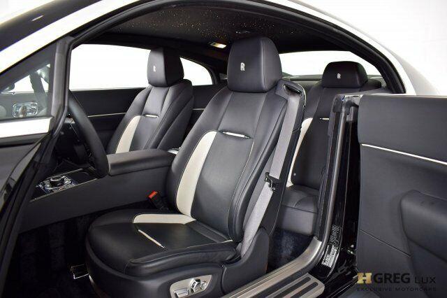 Owner 2019 Rolls-Royce Wraith  2dr Car Twin Turbo Premium Unleaded V-12 6.6 L/402 Blac
