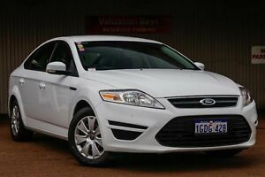 2012 Ford Mondeo MC LX PwrShift TDCi White 6 Speed Sports Automatic Dual Clutch Hatchback Northbridge Perth City Area Preview