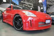2003 Nissan 350Z Z33 Touring Red 6 Speed Manual Coupe Victoria Park Victoria Park Area Preview