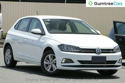 2018 Volkswagen Polo AW MY18 85TSI Comfortline White 6 Speed Manual Hatchback Hobart CBD Hobart City Preview