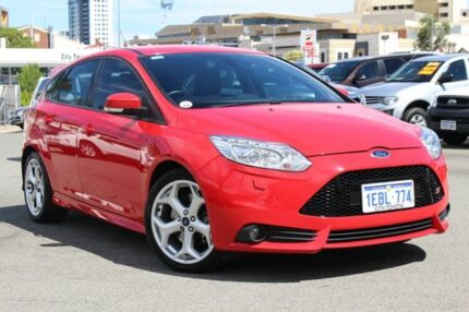 2012 Ford Focus LW MKII ST Red 6 Speed Manual Hatchback