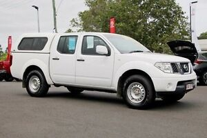 2012 Nissan Navara D40 S6 RX White 5 Speed Automatic Utility Monkland Gympie Area Preview