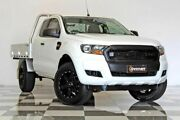 2015 Ford Ranger PX MkII XL 3.2 (4x4) White 6 Speed Manual Super Cab Chassis Burleigh Heads Gold Coast South Preview