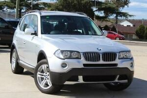 2008 BMW X3 E83 MY07 3.0SI Silver 6 Speed Steptronic Wagon Belmore Canterbury Area Preview