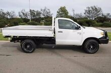 2006 Toyota Hilux KUN26R MY05 SR White 5 Speed Manual Cab Chassis Mindarie Wanneroo Area Preview