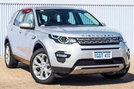 2017 Land Rover Discovery Sport L550 17MY TD4 150 HSE Silver 9 Speed Sports Automatic Wagon Morley Bayswater Area Preview