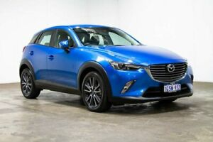 2017 Mazda CX-3 DK2W7A sTouring SKYACTIV-Drive Blue 6 Speed Sports Automatic Wagon