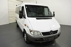 2005 Mercedes-Benz Sprinter 313CDI Low Roof SWB White Seq Manual Auto-Clutch Van Moorabbin Kingston Area Preview