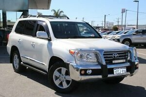 2013 Toyota Landcruiser White Sports Automatic Wagon Welshpool Canning Area Preview