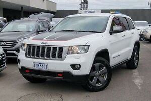 2013 Jeep Grand Cherokee WK MY2013 Trailhawk White 5 Speed Sports Automatic Wagon Dandenong Greater Dandenong Preview