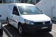 2011 Volkswagen Caddy 2KN MY11 TSI160 SWB White 5 Speed Manual Van Brookvale Manly Area Preview
