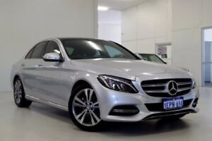 2014 Mercedes-Benz C200 W205 7G-Tronic + Silver 7 Speed Sports Automatic Sedan Myaree Melville Area Preview