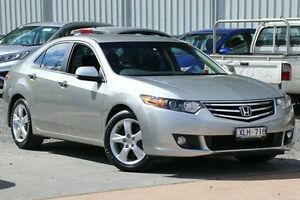 2010 Honda Accord Euro CU MY10 Silver 5 Speed Automatic Sedan Ferntree Gully Knox Area Preview