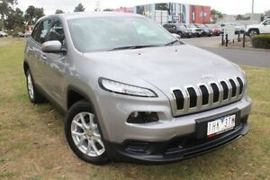 2015 Jeep Cherokee KL MY16 Sport Silver 9 Speed Sports Automatic Wagon Hallam Casey Area Preview