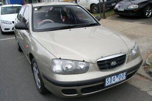 2003 Hyundai Elantra XD GL Gold Metallic 4 Speed Automatic Hatchback Briar Hill Banyule Area Preview