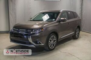 2018 Mitsubishi Outlander ES AWD HEATED LEATHER POWER SEATS, HEA