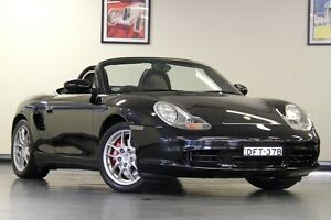 2004 Porsche Boxster 986 MY04 S Black 5 Speed Sports Automatic Convertible North Willoughby Willoughby Area Preview