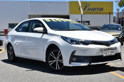2017 Toyota Corolla ZRE172R SX S-CVT White 7 Speed Constant Variable Sedan Claremont Nedlands Area Preview