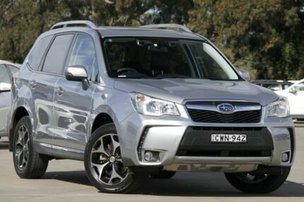 2013 Subaru Forester MY13 2.0XT Premium Silver Continuous Variable Wagon Greenacre Bankstown Area Preview