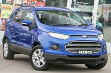 2014 Ford Ecosport BK Trend Blue 6 Speed Automatic Wagon Brookvale Manly Area Preview