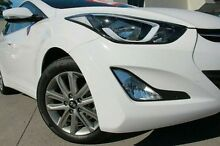 2015 Hyundai Elantra MD3 Elite White 6 Speed Sports Automatic Sedan Pennant Hills Hornsby Area Preview