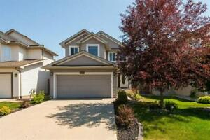 PRIVATE BACKYARD backing onto trees- 4 bedrooms - 1135 115 ST SW