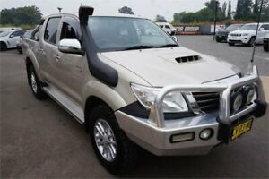 2015 Toyota Hilux KUN26R MY14 SR5 Double Cab Champagne 5 Speed Automatic Utility Elderslie Camden Area Preview
